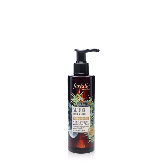 Natural Hair Care, Aufbau-Shampoo - Wacholder